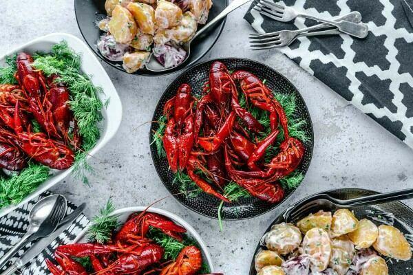crayfish recipe