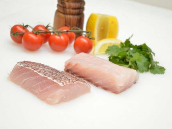 New Zealand snapper fillet steaks