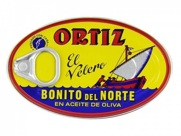 Ortiz tuna in olive oil