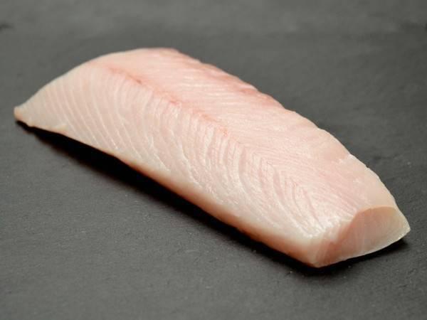 Yellowtail kingfish saku block