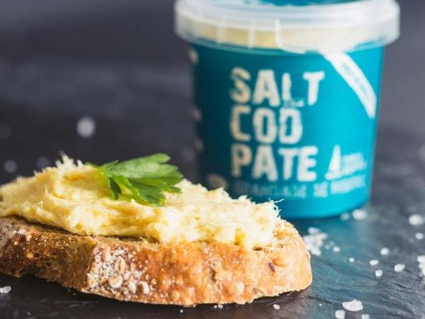 Salt cod pate on toast