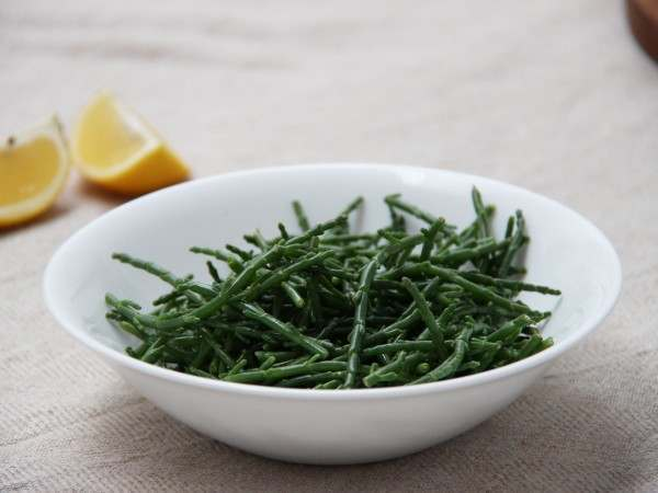 Samphire in a bowl