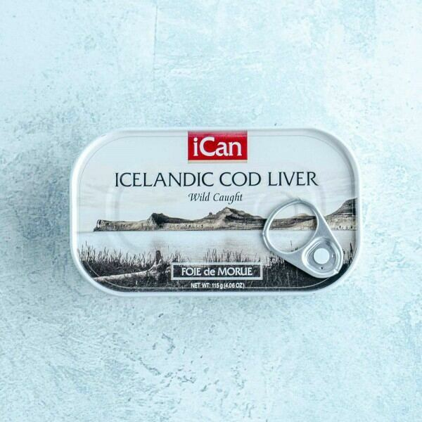 Tinned cod liver