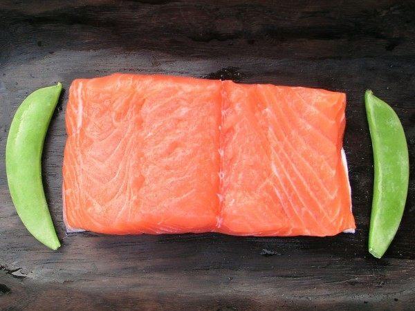 A wild sea trout fillet steak