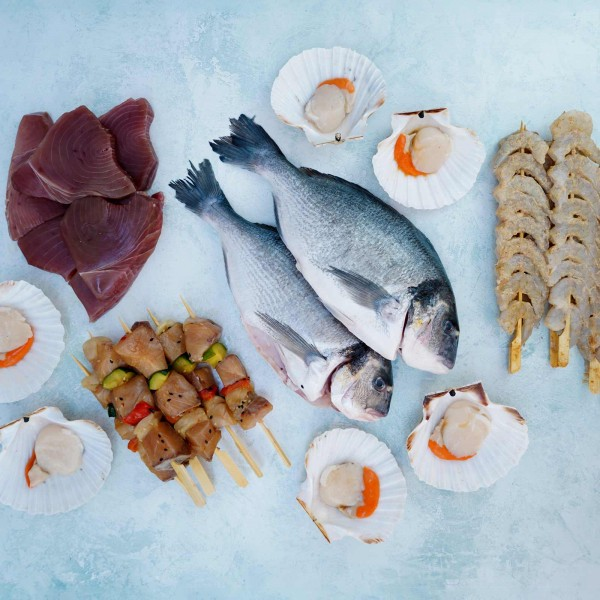 BBQ Selection Seafood Box