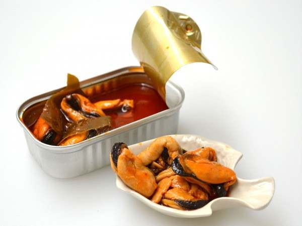 Mussels and kombu
