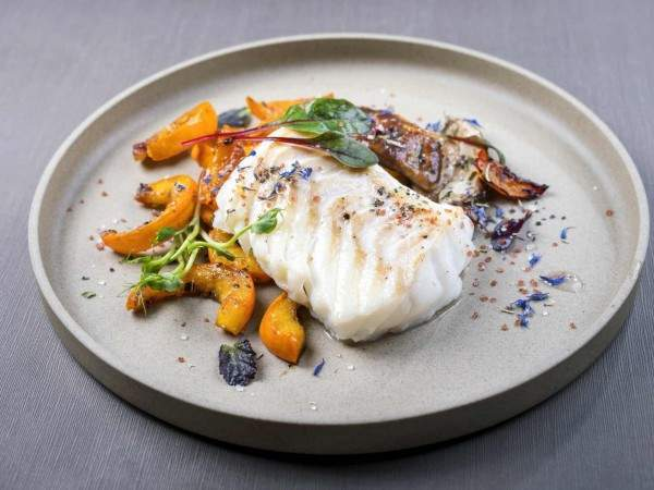 Skinless cod loin steaks