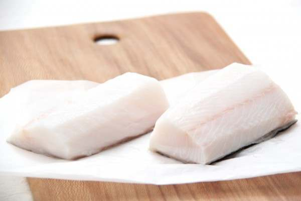 Black cod loin steaks