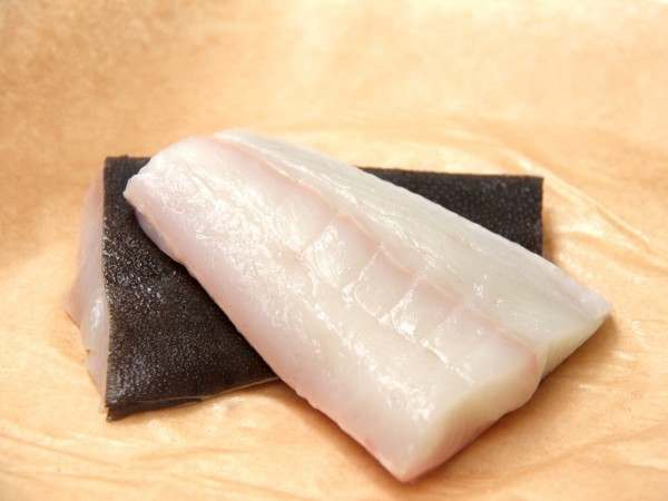 Fillet portions from halibut