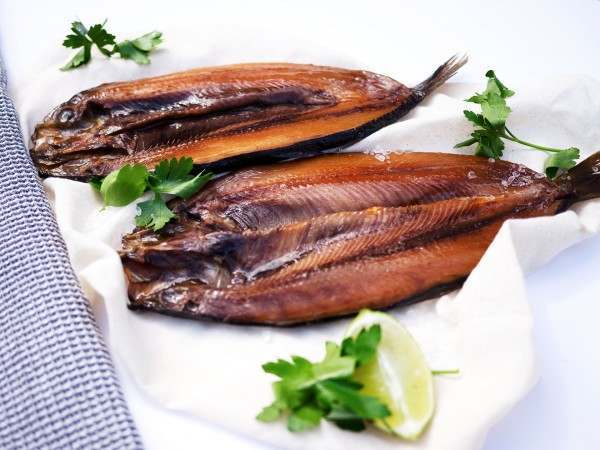 Two Manx Kippers