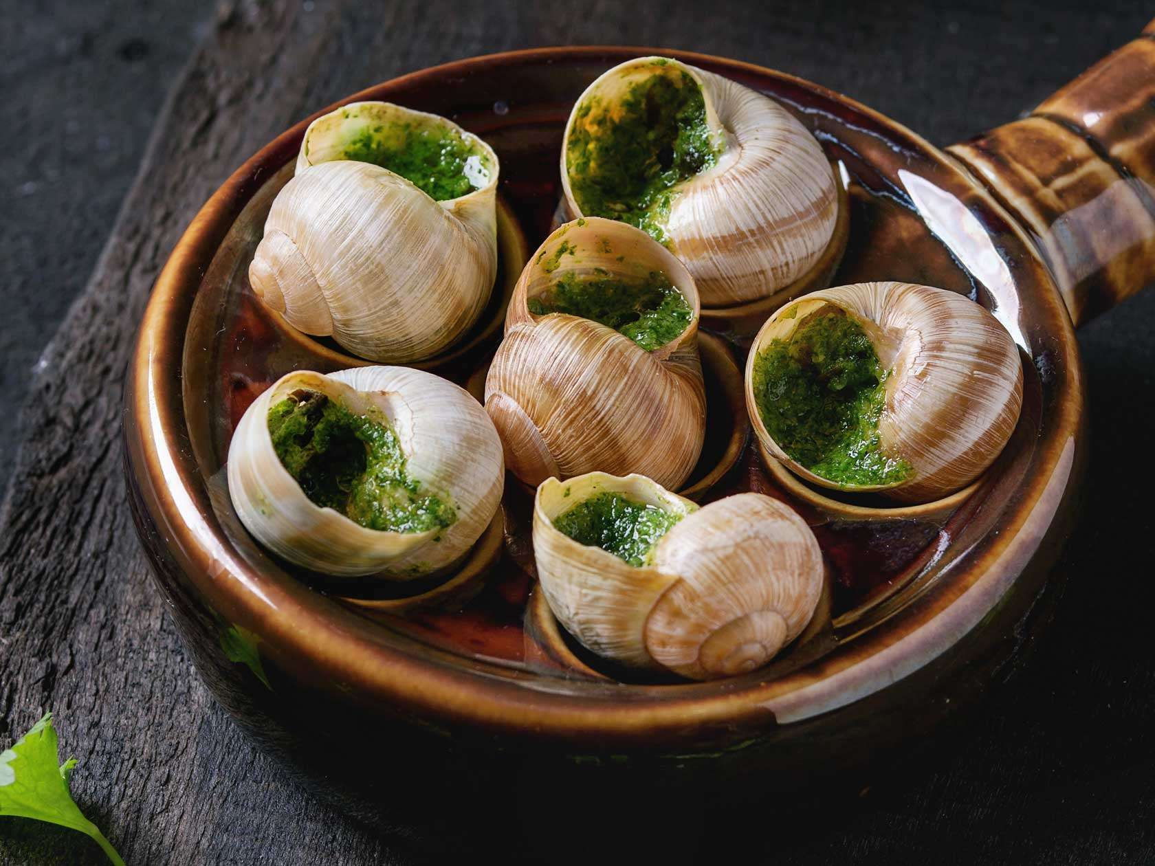 Buy French Escargots Online   Snails In Garlic Butter   The Fish Society