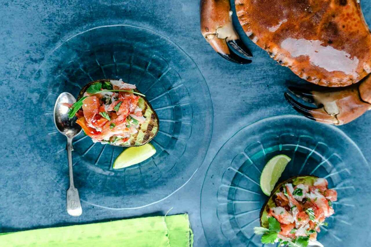 Crab recipe with avocado