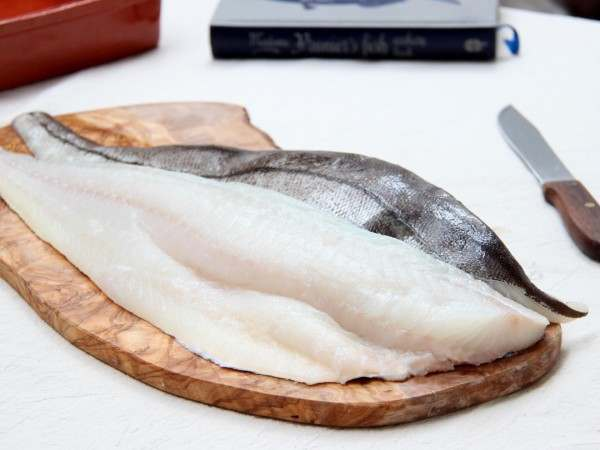 Large haddock fillets