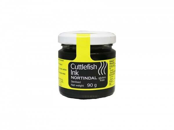 small jar of cuttlefish ink