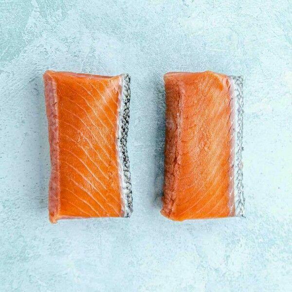 wild king salmon loin steaks