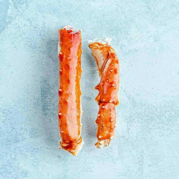 King crab prime sections - cooked