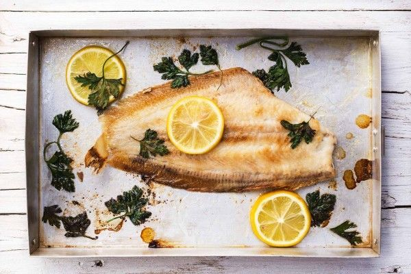 Cooked Lemon Sole