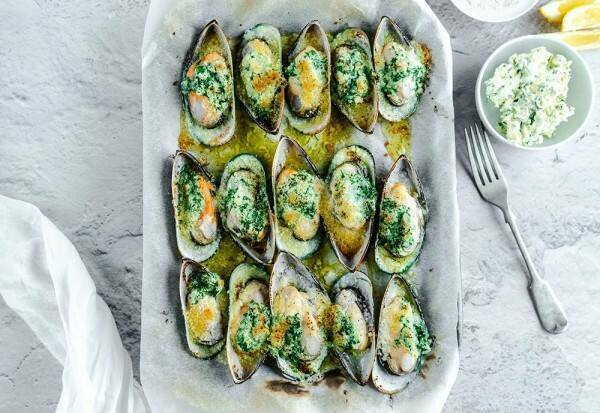 gratin mussels