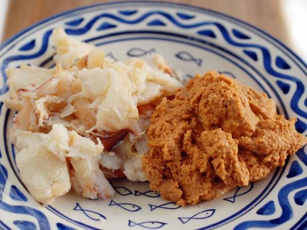Crab meat - white and brown