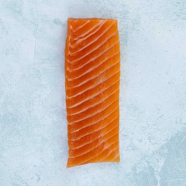 Chalkstream belly sashimi thick