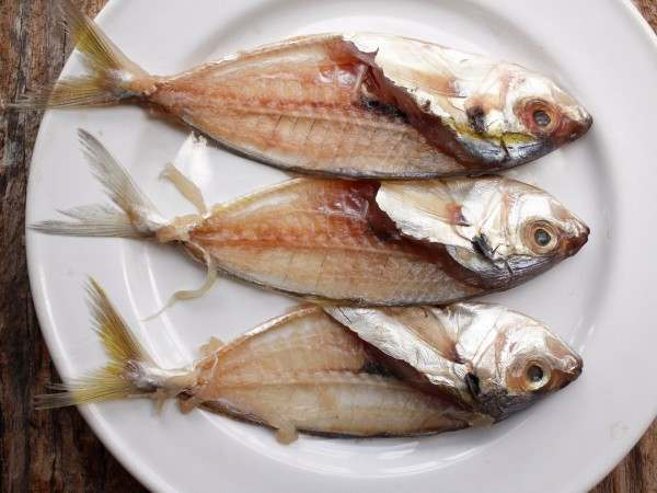 Fish bones for stocks and soups