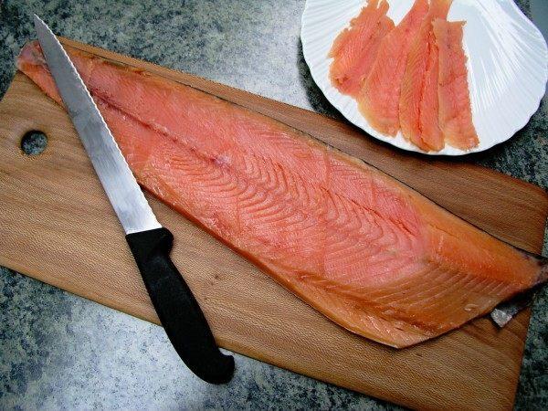 Smoked salmon side - wild