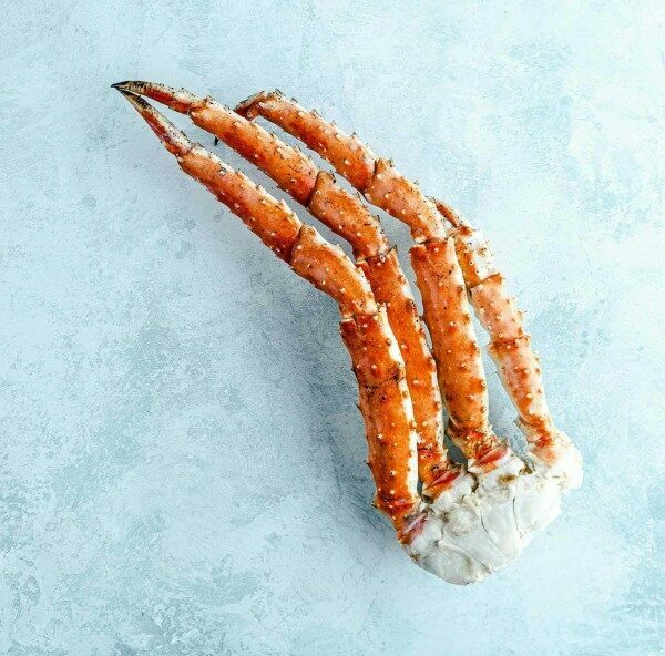 King crab cluster - cooked