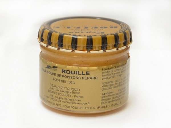 A jar of rouille