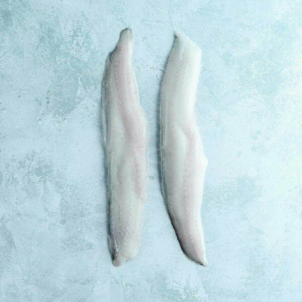 Two whiting fillets