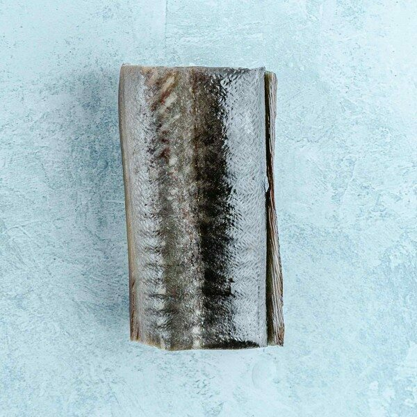 Smoked eel on the bone steaks
